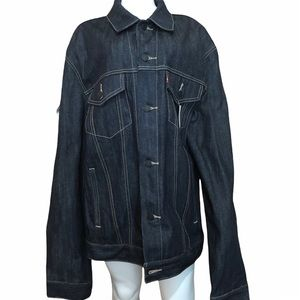 NWT Levi's Standard Trucker Denim Jean Jacket XL